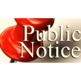 Election Day Public Notice