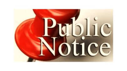 Election Day Public Notice